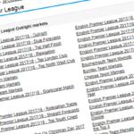 England pPremier League 201718 Ante-Post Betting Tips