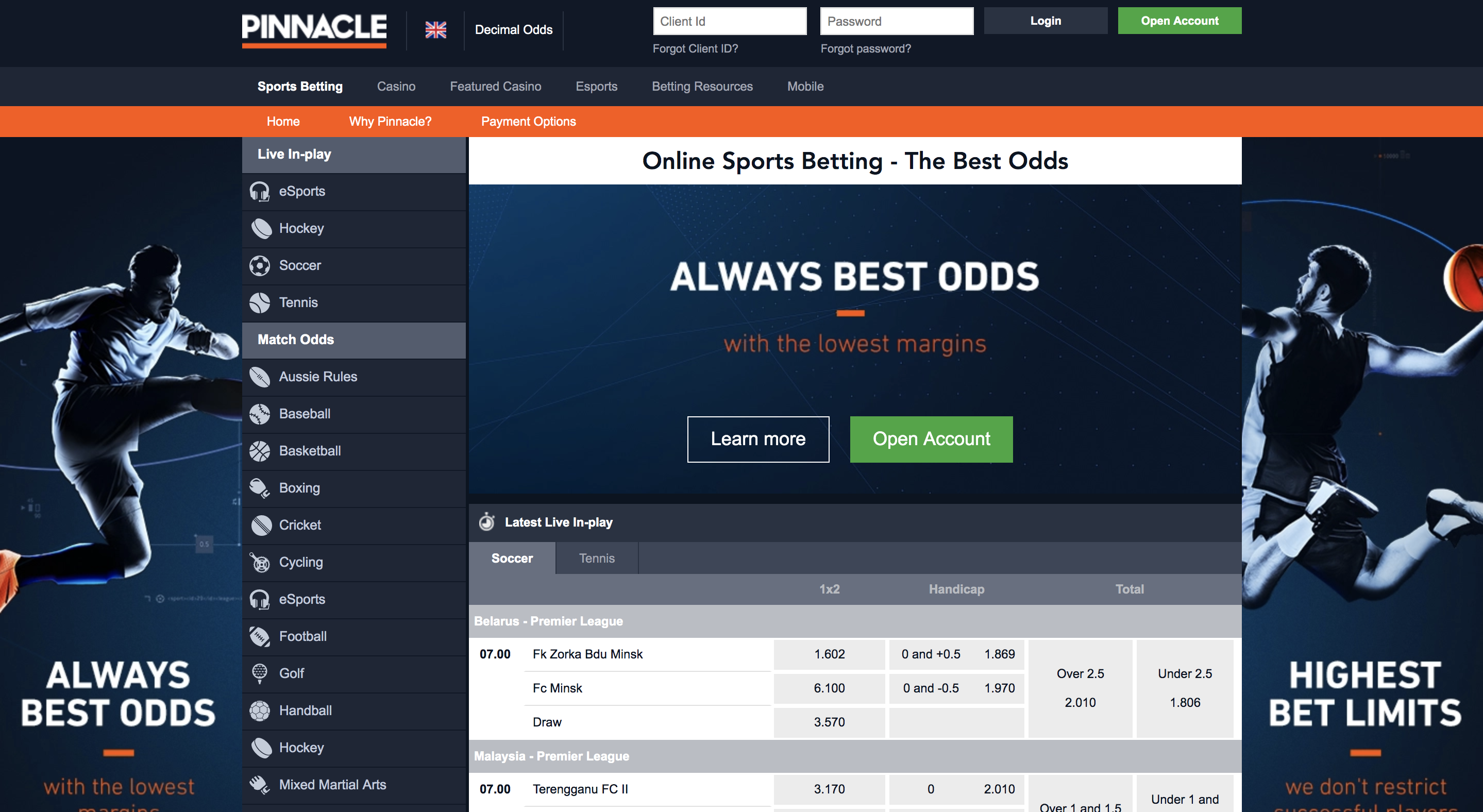 Pinnacle sports live betting ultra rules to sports betting